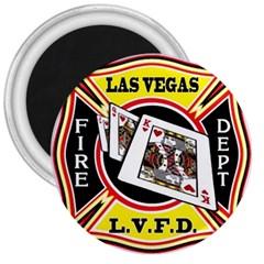 Las Vegas Fire Department 3  Magnets