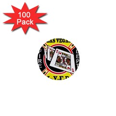 Las Vegas Fire Department 1  Mini Buttons (100 Pack)