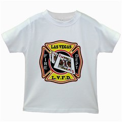 Las Vegas Fire Department Kids White T Shirts