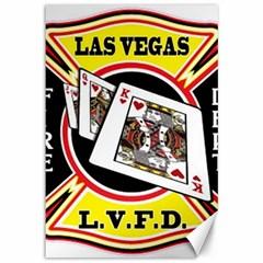 Las Vegas Fire Department Canvas 12  X 18