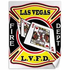 Las Vegas Fire Department Canvas 18  X 24