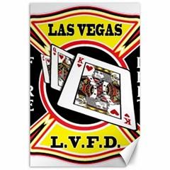Las Vegas Fire Department Canvas 24  X 36