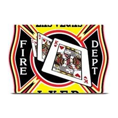 Las Vegas Fire Department Plate Mats