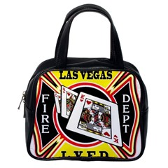 Las Vegas Fire Department Classic Handbags (one Side)
