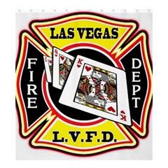 Las Vegas Fire Department Shower Curtain 66  X 72  (large)