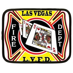 Las Vegas Fire Department Netbook Case (xxl)