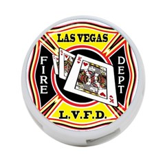 Las Vegas Fire Department 4 Port Usb Hub (one Side)