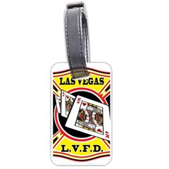 Las Vegas Fire Department Luggage Tags (two Sides)