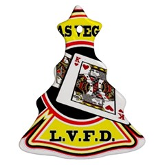 Las Vegas Fire Department Christmas Tree Ornament (two Sides)