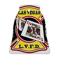 Las Vegas Fire Department Bell Ornament (two Sides)