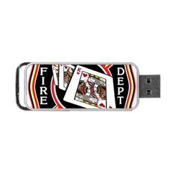 Las Vegas Fire Department Portable Usb Flash (two Sides)