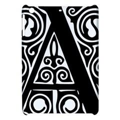 Alphabet Calligraphy Font A Letter Apple Ipad Mini Hardshell Case