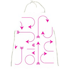 Arrows Girly Pink Cute Decorative Full Print Aprons