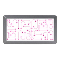 Arrows Girly Pink Cute Decorative Memory Card Reader (mini)