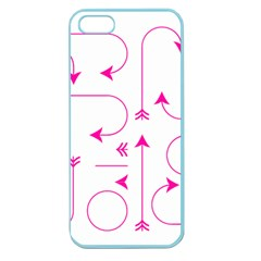 Arrows Girly Pink Cute Decorative Apple Seamless Iphone 5 Case (color)