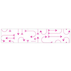 Arrows Girly Pink Cute Decorative Small Flano Scarf