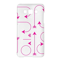 Arrows Girly Pink Cute Decorative Samsung Galaxy A5 Hardshell Case