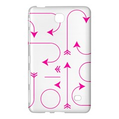 Arrows Girly Pink Cute Decorative Samsung Galaxy Tab 4 (7 ) Hardshell Case