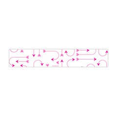Arrows Girly Pink Cute Decorative Flano Scarf (mini)