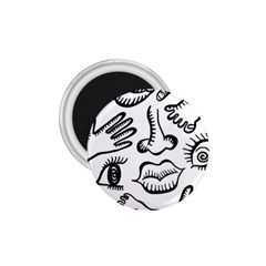 Anatomy Icons Shapes Ear Lips 1 75  Magnets