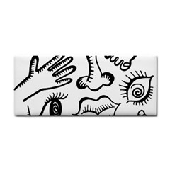 Anatomy Icons Shapes Ear Lips Cosmetic Storage Cases