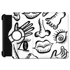 Anatomy Icons Shapes Ear Lips Kindle Fire Hd 7