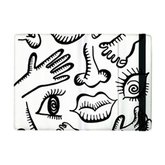 Anatomy Icons Shapes Ear Lips Ipad Mini 2 Flip Cases