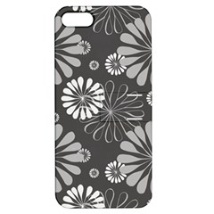 Floral Pattern Floral Background Apple Iphone 5 Hardshell Case With Stand