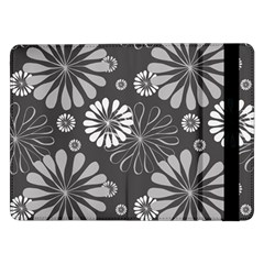 Floral Pattern Floral Background Samsung Galaxy Tab Pro 12 2  Flip Case