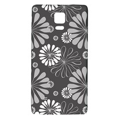 Floral Pattern Floral Background Galaxy Note 4 Back Case
