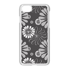 Floral Pattern Floral Background Apple Iphone 8 Seamless Case (white)