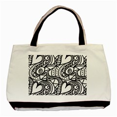 Seamless Tile Background Abstract Basic Tote Bag (two Sides)
