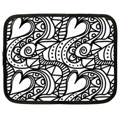 Seamless Tile Background Abstract Netbook Case (xl)