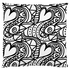 Seamless Tile Background Abstract Large Cushion Case (one Side)