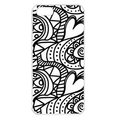 Seamless Tile Background Abstract Apple Iphone 5 Seamless Case (white)