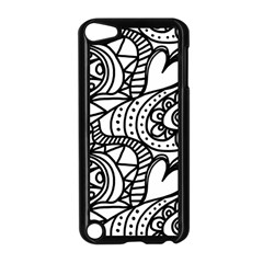 Seamless Tile Background Abstract Apple Ipod Touch 5 Case (black)
