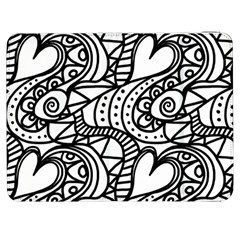 Seamless Tile Background Abstract Samsung Galaxy Tab 7  P1000 Flip Case