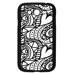 Seamless Tile Background Abstract Samsung Galaxy Grand Duos I9082 Case (black)