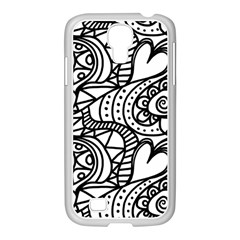 Seamless Tile Background Abstract Samsung Galaxy S4 I9500/ I9505 Case (white)