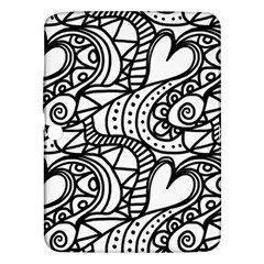 Seamless Tile Background Abstract Samsung Galaxy Tab 3 (10 1 ) P5200 Hardshell Case