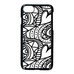 Seamless Tile Background Abstract Apple Iphone 8 Seamless Case (black)