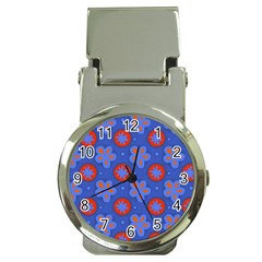 Seamless Tile Repeat Pattern Money Clip Watches