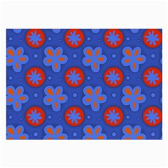 Seamless Tile Repeat Pattern Large Glasses Cloth (2 Side)