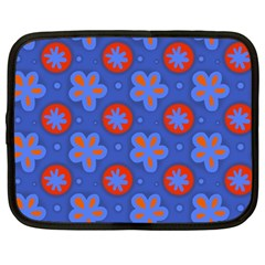 Seamless Tile Repeat Pattern Netbook Case (large)