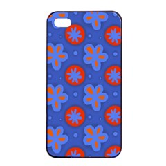 Seamless Tile Repeat Pattern Apple Iphone 4/4s Seamless Case (black)