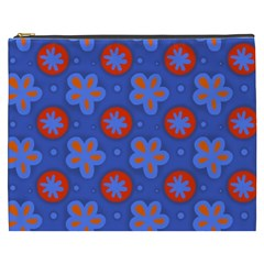 Seamless Tile Repeat Pattern Cosmetic Bag (xxxl)