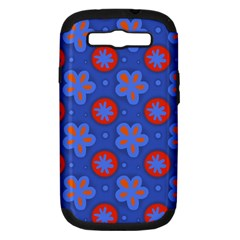 Seamless Tile Repeat Pattern Samsung Galaxy S Iii Hardshell Case (pc+silicone)