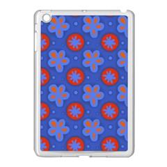 Seamless Tile Repeat Pattern Apple Ipad Mini Case (white)