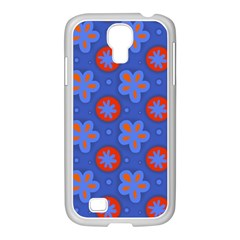 Seamless Tile Repeat Pattern Samsung Galaxy S4 I9500/ I9505 Case (white)