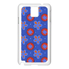 Seamless Tile Repeat Pattern Samsung Galaxy Note 3 N9005 Case (white)